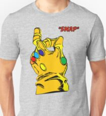 SNAP THANOS INFINITY WAR infinity gauntlet Unisex T-Shirt