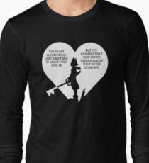 Kingdom hearts sora quote T-Shirt