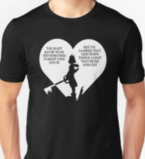 Kingdom hearts sora quote T-Shirt