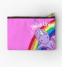 Hello Unicorn (Doodle Graffiti) Most Accurate Altered Carbon  Studio Pouch
