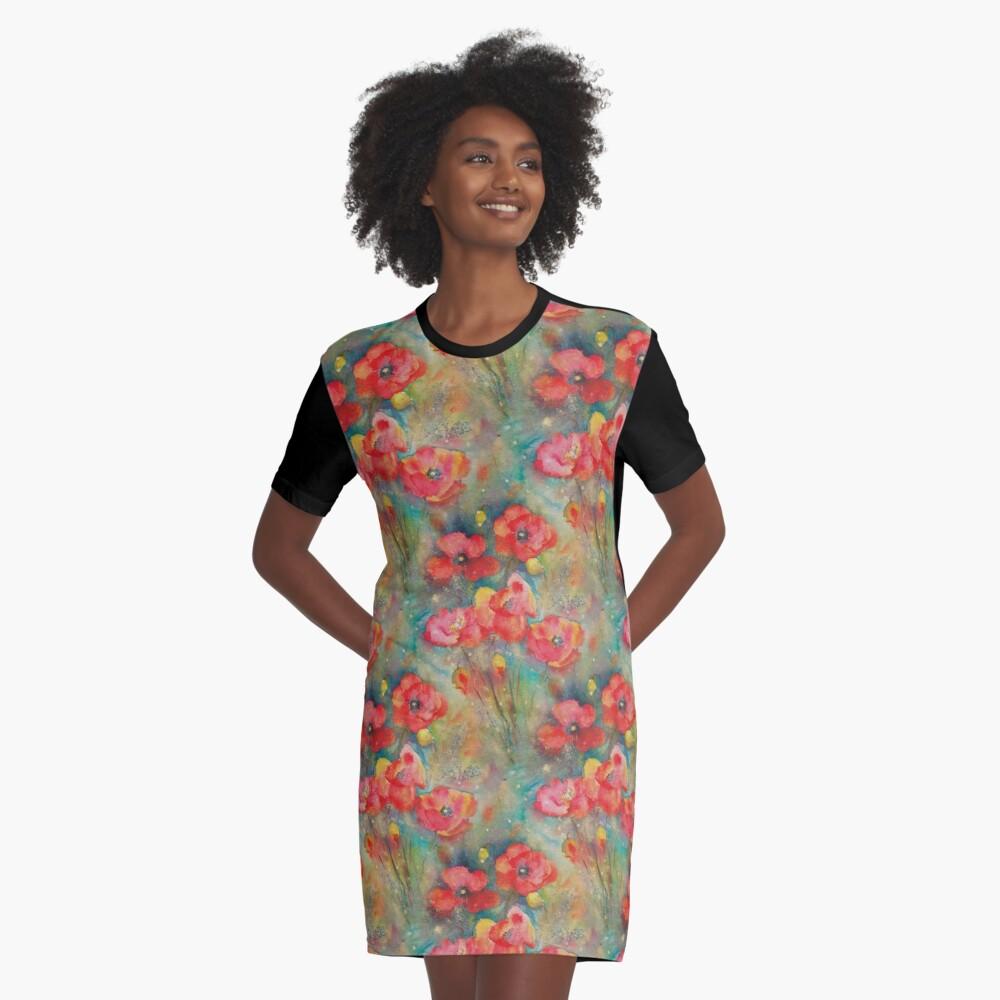 WILDTIME Graphic T-Shirt Dress Front