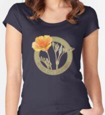 Nevada City Poppy Women's Fitted Scoop T-Shirt