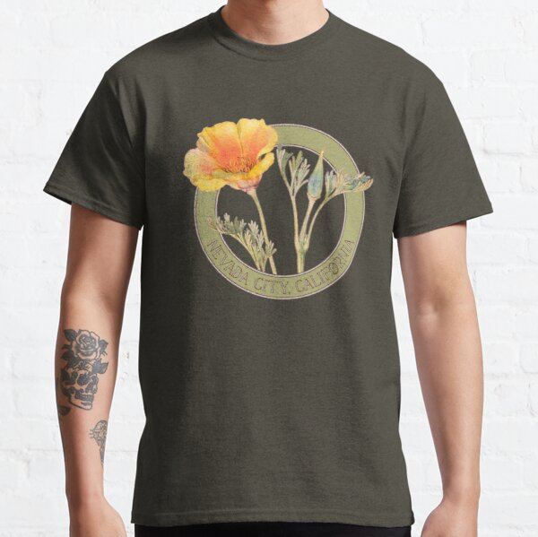 Nevada City Poppy Classic T-Shirt