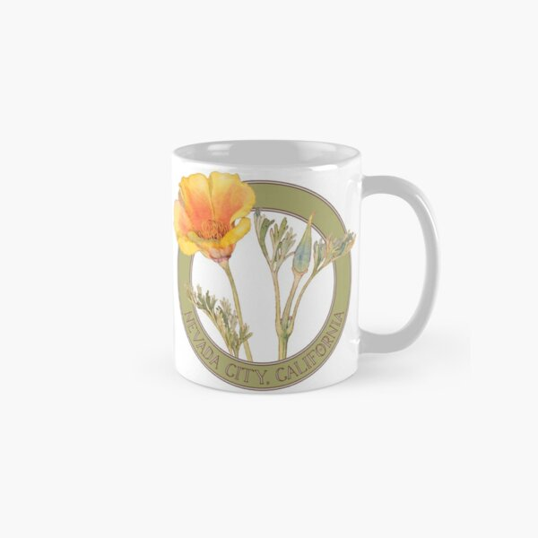 Nevada City Poppy Classic Mug
