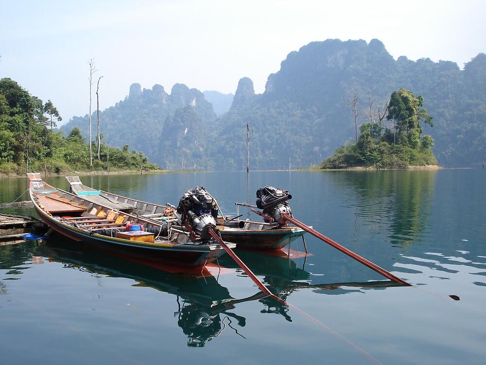 Chieow Laan Lake, Thailand by Rena77uk