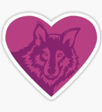 Love Wolf - Protect What You Love Sticker