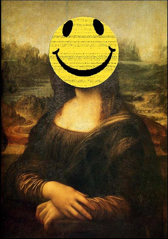 Mona Lisa Smiley by hackmonkey