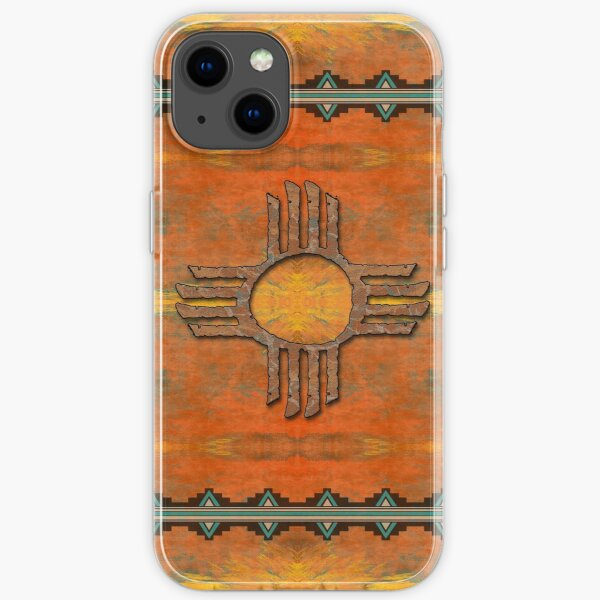 Ancient New Mexico Zia iPhone Soft Case