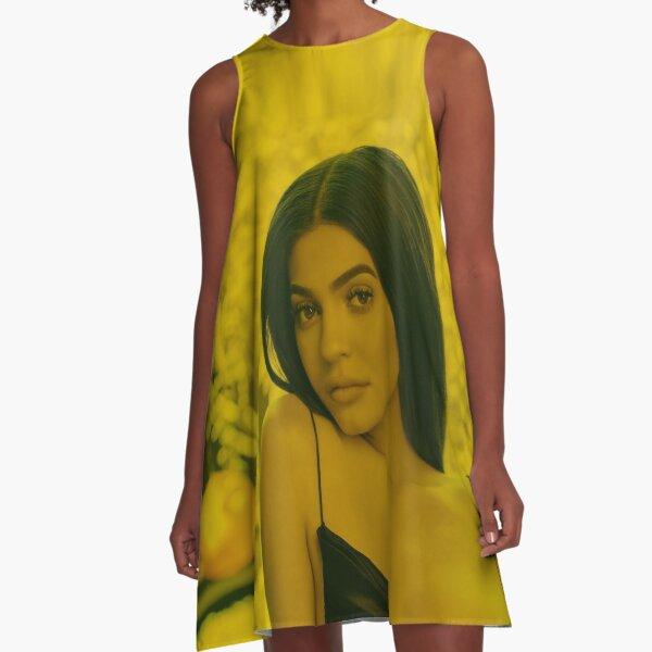 Kylie Jenner - Celebrity (Photographic Art) A-Line Dress