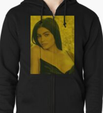 Kylie Jenner - Celebrity (Photographic Art) Zipped Hoodie