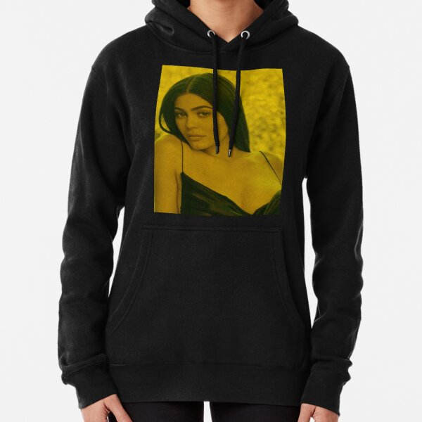 Kylie Jenner - Celebrity (Photographic Art) Pullover Hoodie