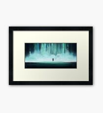 The First Gate Framed Print