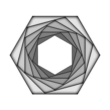 Spinning Hexagons by julianarnold