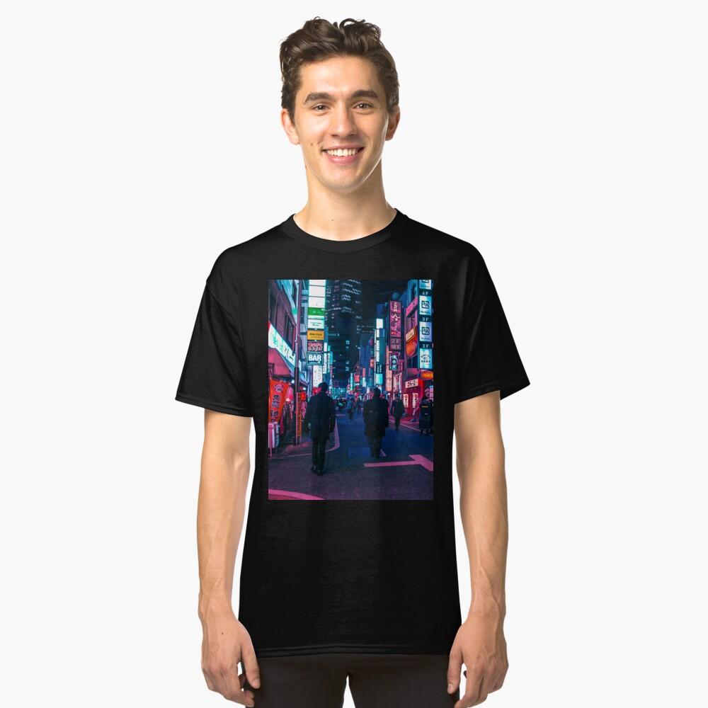 Machen Sie einen Spaziergang unter dem Neon Classic T-Shirt