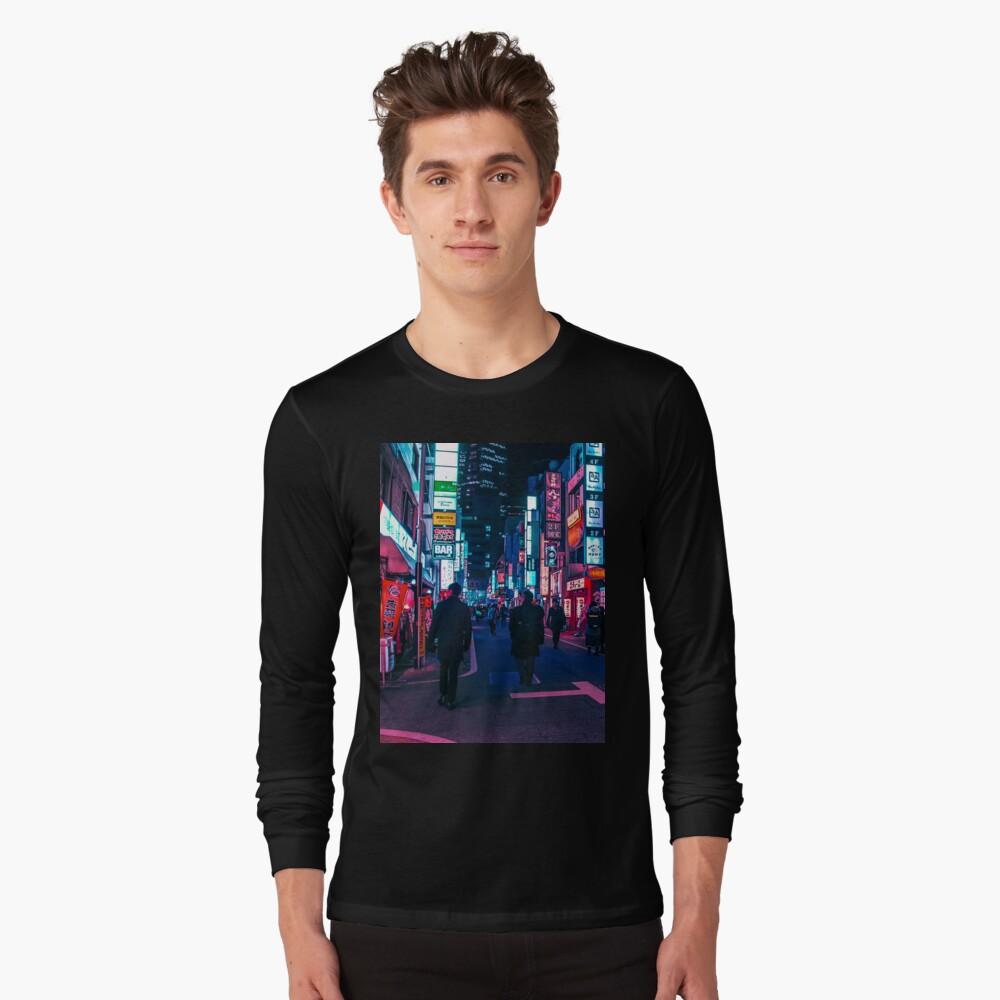 Machen Sie einen Spaziergang unter dem Neon Langarmshirt