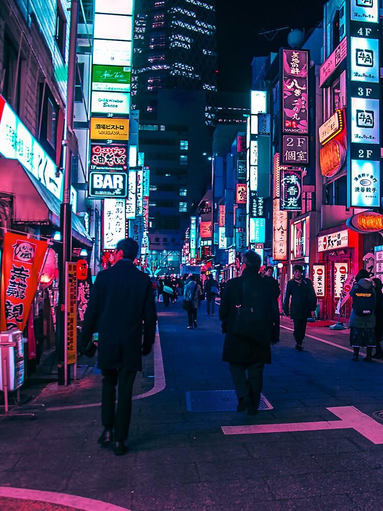 Machen Sie einen Spaziergang unter dem Neon von HimanshiShah