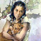 A dog's comfort by Lorenzo Castello