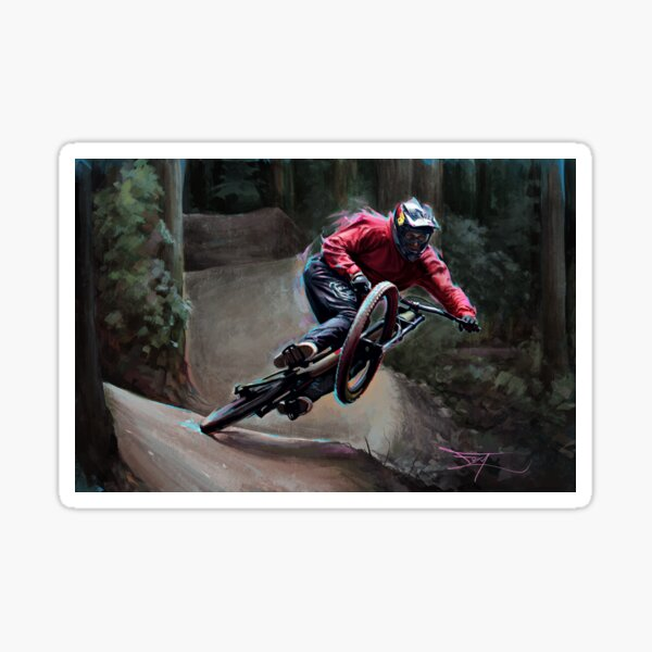 Brandon Semenuk - Trail Slide Sticker
