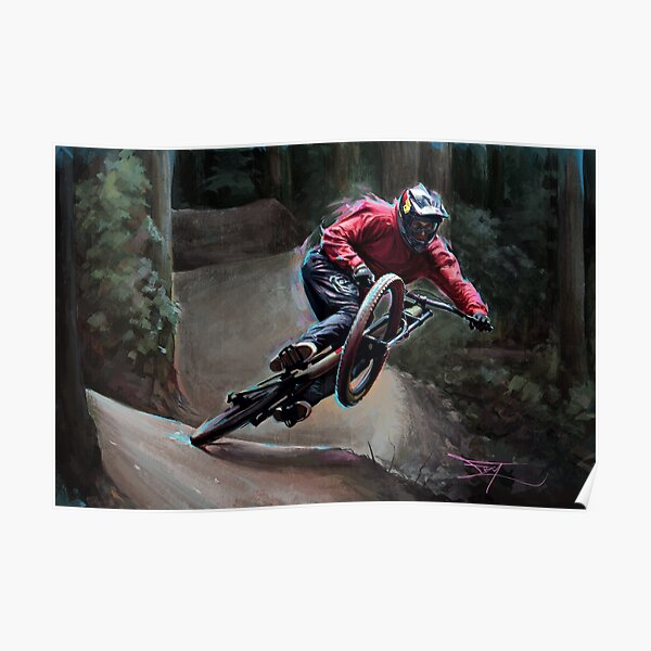 Brandon Semenuk - Manual Drift Poster