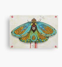 psychedelic butterfly  (original sold) Canvas Print