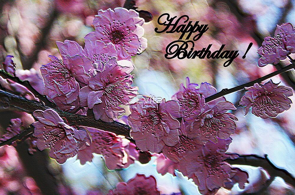 Happy Birthday  by Evita