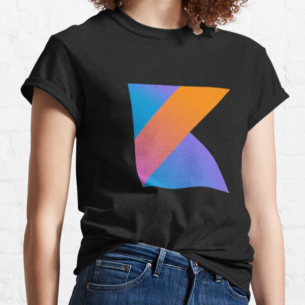 Camiseta con el logo de Kotlin para programadores de Kotlin Camiseta clásica