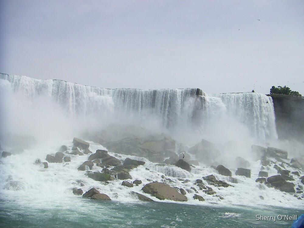 Waterfall Majesty by Sherry O'Neill