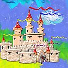 A Fairy Castle In Days of Old by Dennis Melling