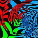 Abstract illustration by blackhalt