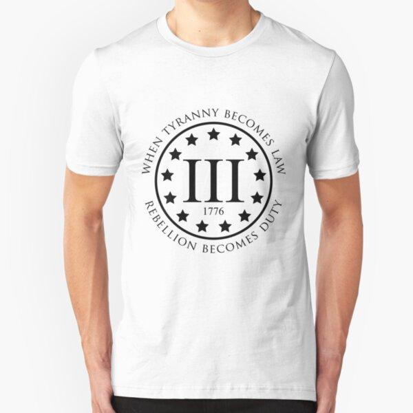 3%er Slim Fit T-Shirt