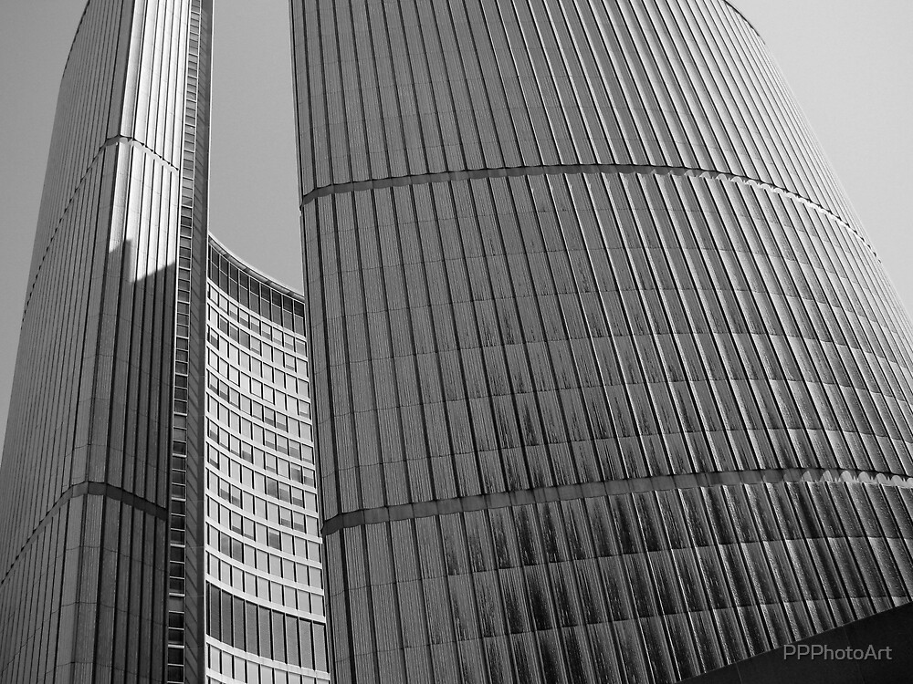 City Hall B&W by PPPhotoArt