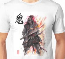 Ganondorf from Zelda game series with Japanese Calligraphy Unisex T-Shirt