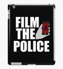 FILM THE POLICE (I CAN'T BREATHE)  iPad Case/Skin