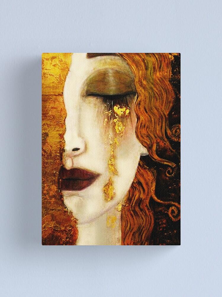 Alternate view of Klimt Golden Tears Canvas Print
