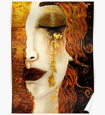 Klimt Golden Tears Poster