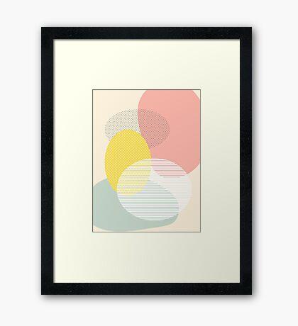 Lost In Shapes II #redbubble #buyart Framed Print