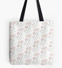 Playful flowers Tote Bag