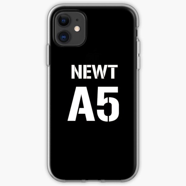 Newt A5 Merchandise iPhone Soft Case