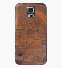 Brick Footpath, Melbourne Case/Skin for Samsung Galaxy