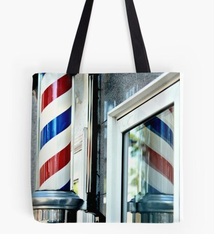 Barber Time Tote Bag