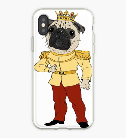 The Pug Prince iPhone Case