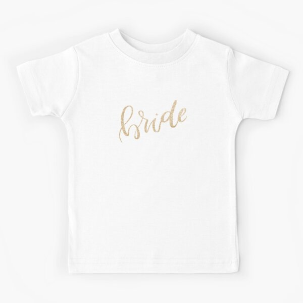 Bride by Alice Monber Kids T-Shirt