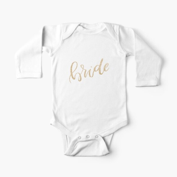 Bride by Alice Monber Long Sleeve Baby One-Piece