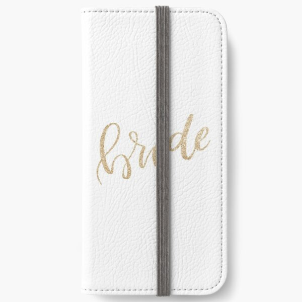 Bride by Alice Monber iPhone Wallet