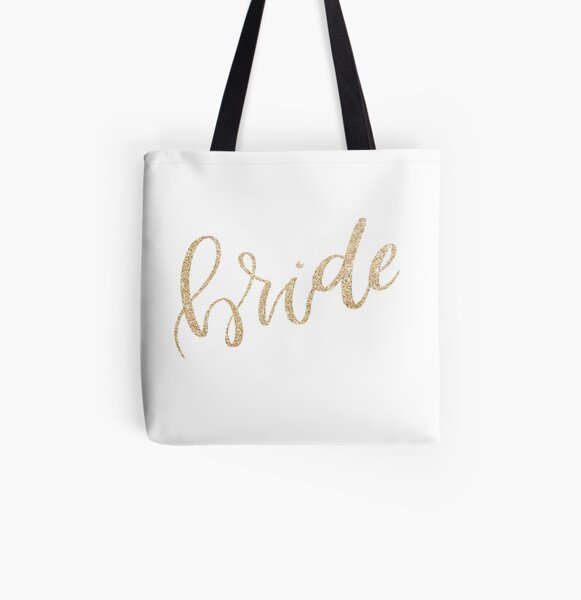 Bride by Alice Monber All Over Print Tote Bag