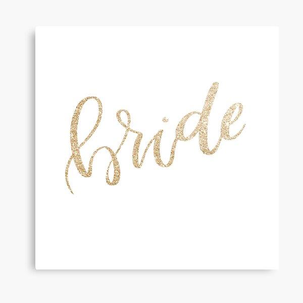 Bride by Alice Monber Metal Print