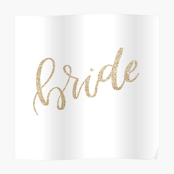 Bride by Alice Monber Poster