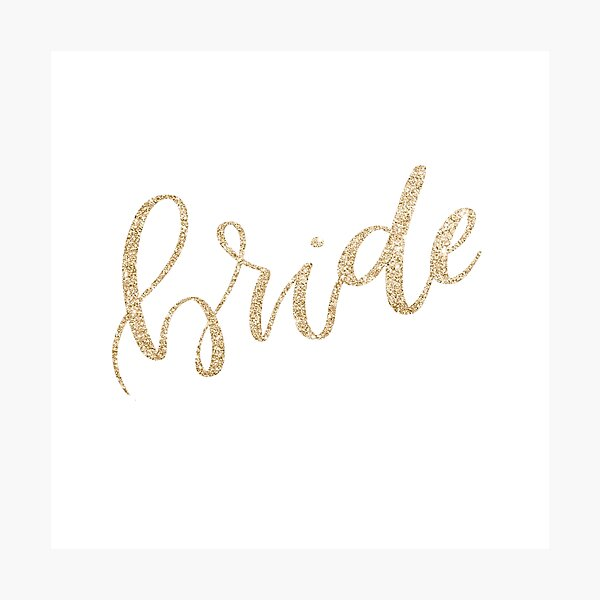 Bride by Alice Monber Photographic Print