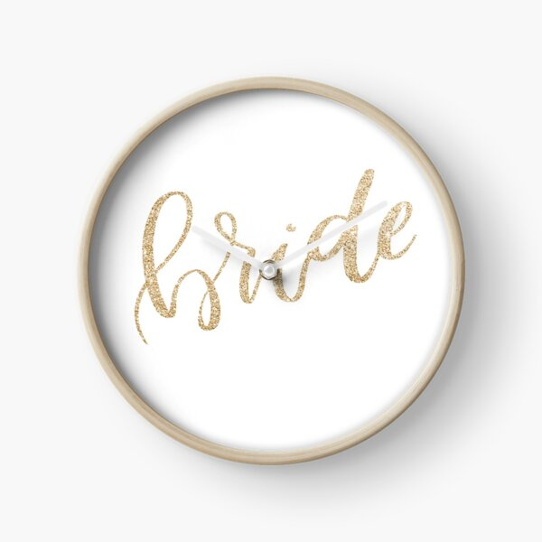 Bride by Alice Monber Clock