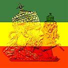 Menelik Emperor Ethiopia Bloodline of King Solomon by rastaseed
